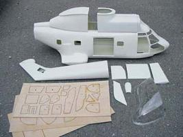 Kit Super Puma Short tail boom - Kopia