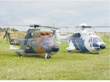 Super Puma Long tail boom 3