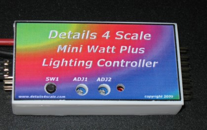 mini watt plus lighting controller